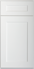 Kitchen Cabinets or Bathroom Vanities Shaker Series in Pure White