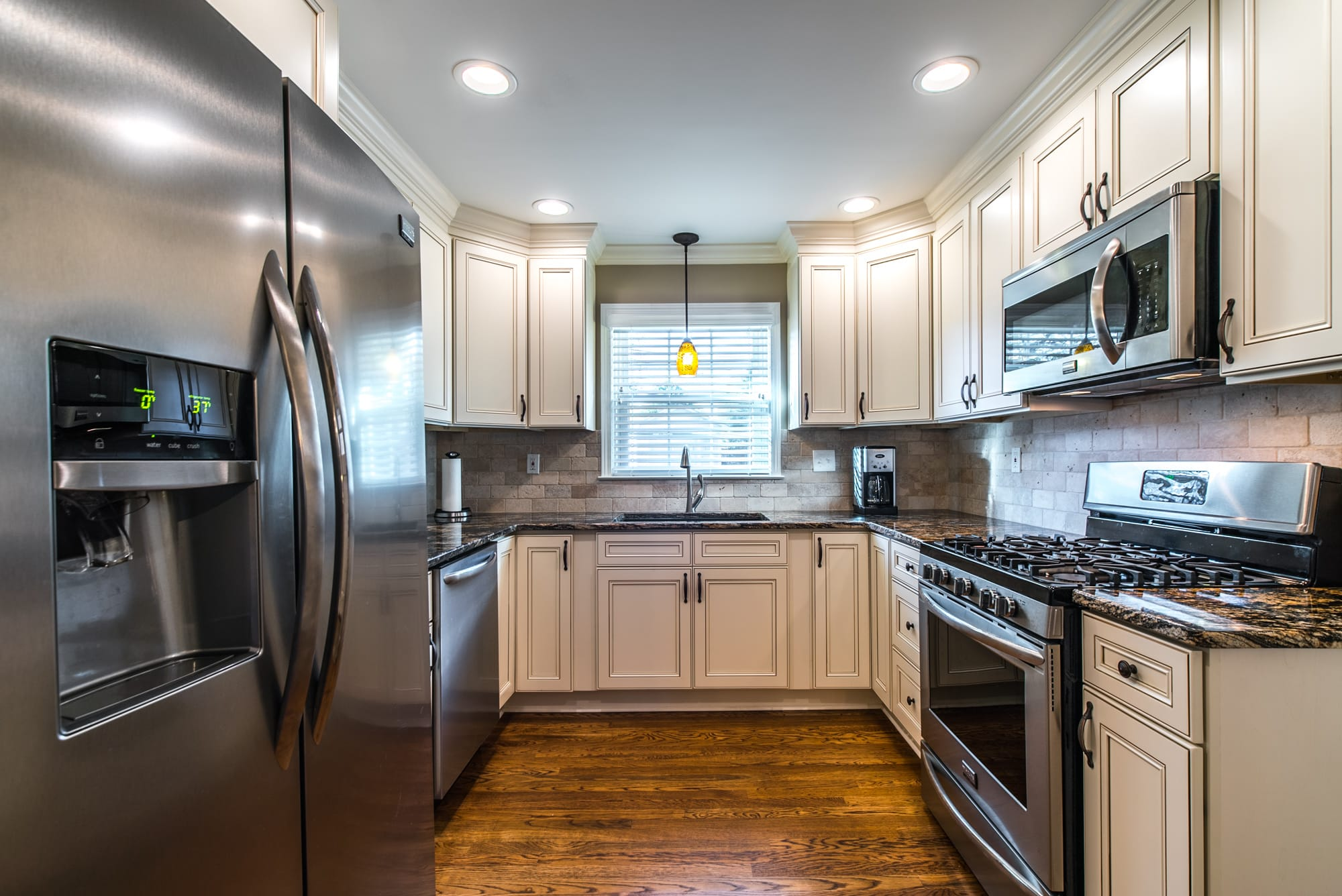 Kitchen cabinets design by East Coast Granite of Wilmington