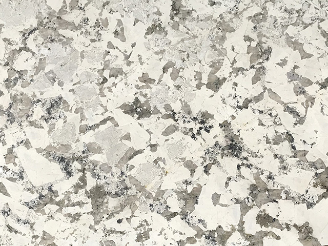 White Soul granite is a bright and airy choice for kitchen countertops